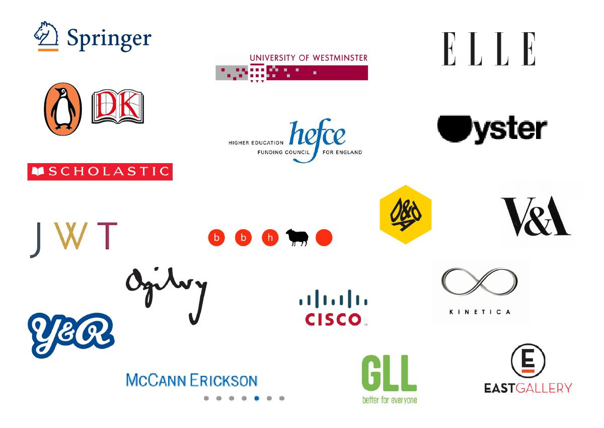 Riccie company logos